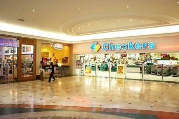 Checkers store in South Africa