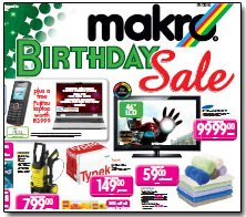 Cover of Makro's catalogue